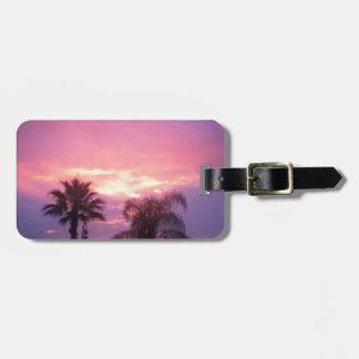Coloful Florida Sonnenuntergang Gepäckanhänger