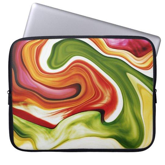 color in motion #1 laptophülle laptopschutzhülle