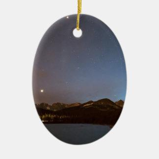 Colorado Brainard See-Galaxie-Nacht Keramik Ornament