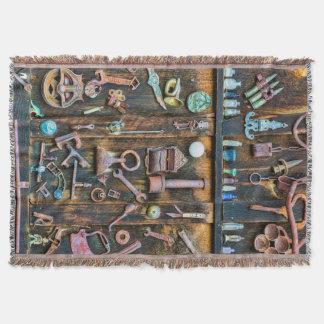 Colorado, Butte mit Haube. Antike Sammlung Decke
