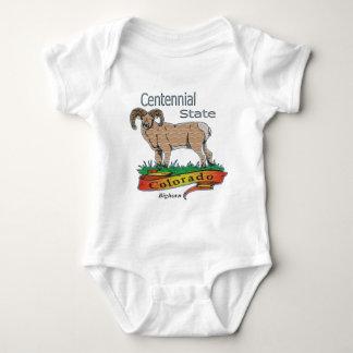 Colorado der hundertjährige Staat Bighorn Baby Strampler