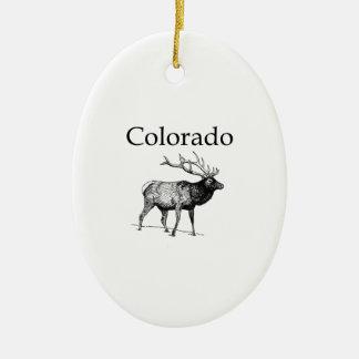 Colorado-Elche (Linie Kunst) Keramik Ornament
