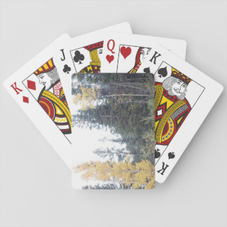 Colorado-Fall in die Rockies Spielkarten