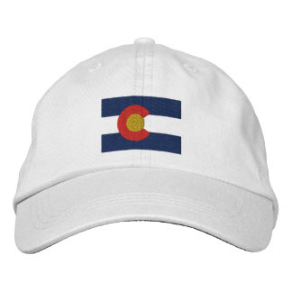 Colorado-Flagge Bestickte Baseballmützen