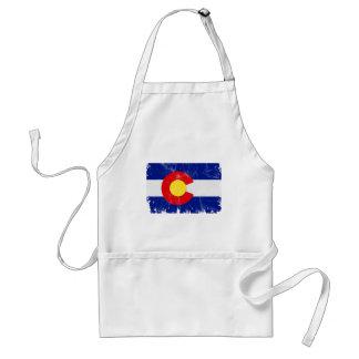 Colorado-Flagge beunruhigt Schürze