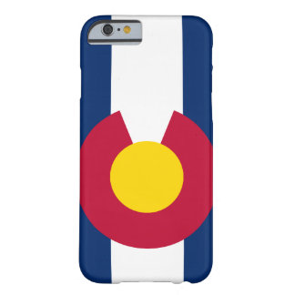 Colorado-Flagge iPhone 6 Fall Barely There iPhone 6 Hülle