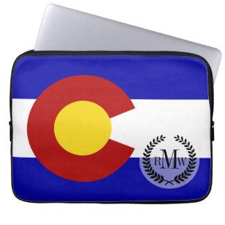 Colorado-Flagge Laptopschutzhülle