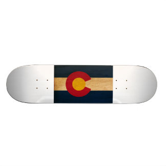 Colorado-Flagge Personalisiertes Skateboard