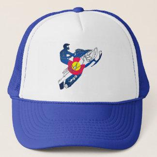Colorado-Flagge Snowmobile-Fernlastfahrerhut Truckerkappe