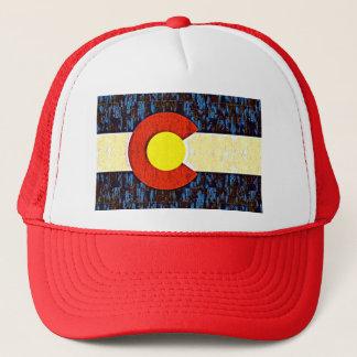 Colorado-Flagge Truckerkappe
