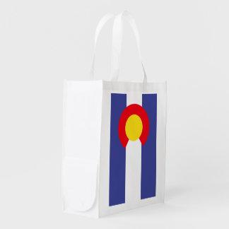 COLORADO-Flagge - Wiederverwendbare Einkaufstasche