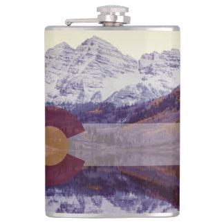 Colorado-Flaggen-Flasche Flachmann