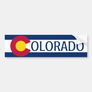 Colorado-Flaggenebenen-Autoaufkleber Autoaufkleber