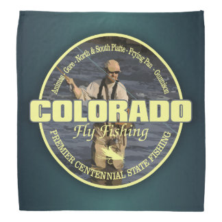 Colorado-Fliegen-Fischen Kopftuch
