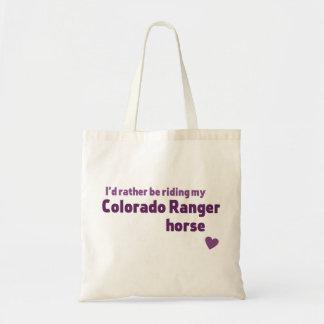 Colorado-Försterpferd Tragetasche