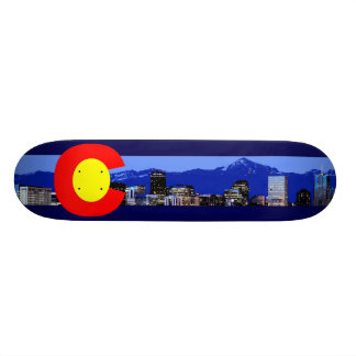 Colorado-Gebirgsflagge Skateboarddecks