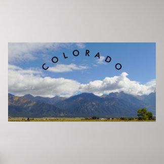 Colorado-Gebirgsplakat Poster