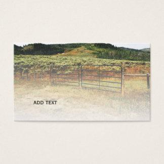 Colorado-Grasland Visitenkarte