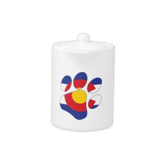 Colorado-Haustier-Tatze
