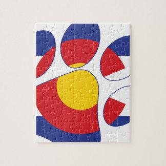 Colorado-Haustier-Tatze Puzzle