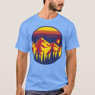 Colorado-Himmel-kurzer Ärmel T-Shirt