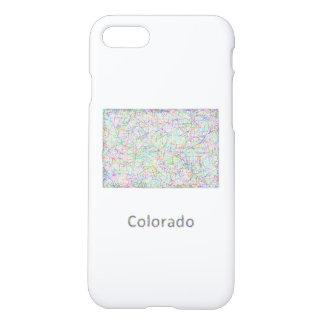 Colorado-Karte iPhone 8/7 Hülle