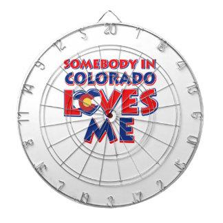 Colorado-Liebe Dartscheibe