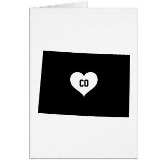 Colorado-Liebe Karte