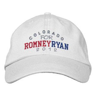 Colorado Mitt Romney Paul Ryan 2012 Bestickte Kappe