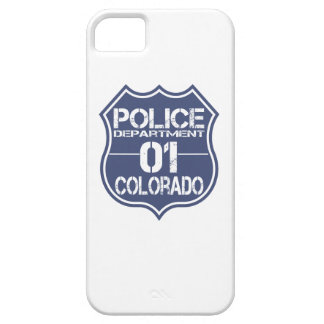 Colorado-Polizeidienststelle-Schild 01 Barely There iPhone 5 Hülle
