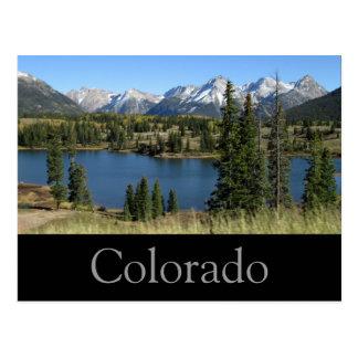 Colorado-Postkarte Postkarte