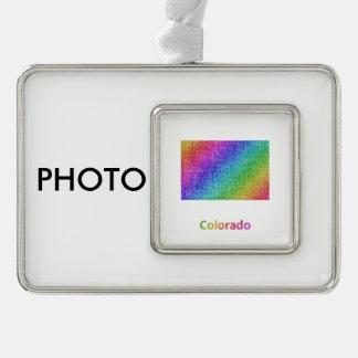 Colorado Rahmen-Ornament Silber