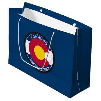 Colorado-Rundschreiben-Flagge Große Geschenktüte