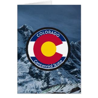 Colorado-Rundschreiben-Flagge Karte