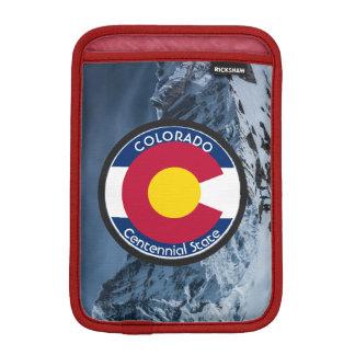Colorado-Rundschreiben-Flagge Sleeve Für iPad Mini