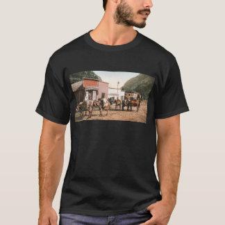 Colorado-Satz-Spur bereit zu Bergmännern 1904 T-Shirt
