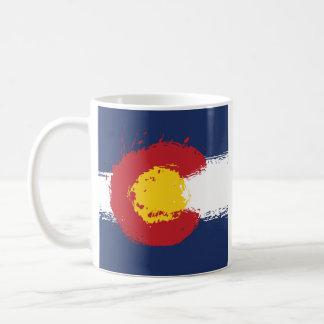 Colorado-Schmutz-Flagge Kaffeetasse