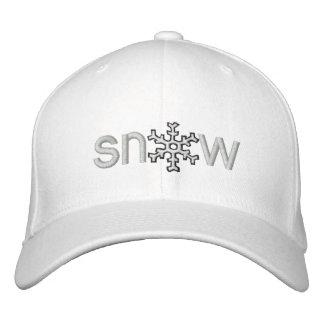 Colorado-Schnee Bestickte Kappe