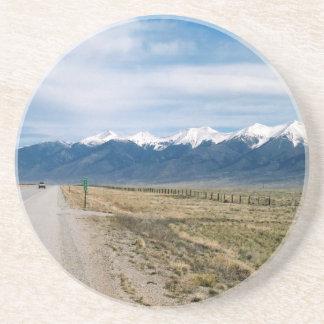 Colorado-Schnee Mountais Getränkeuntersetzer