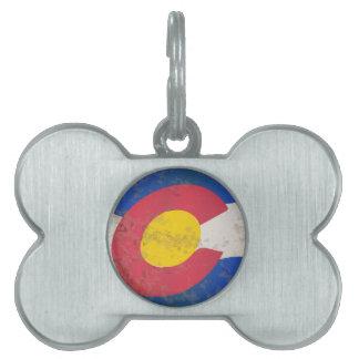 Colorado-Staats-Flagge Tiermarke