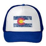 Colorado-Staats-Flagge Vintag Truckermützen