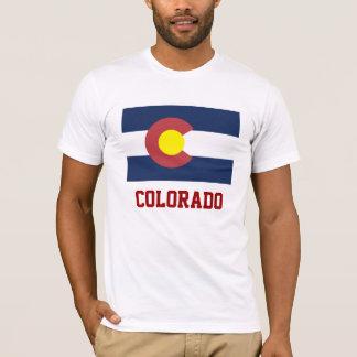 COLORADO: Staats-Flagge von Colorado T-Shirt