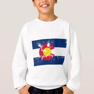 Colorado-Staats-FlaggeGrunge Sweatshirt
