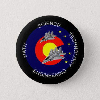 Colorado-STAMM Runder Button 5,7 Cm