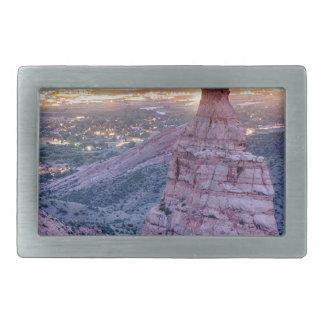 Colorado-Unabhängigkeits-Monument-und Rechteckige Gürtelschnallen