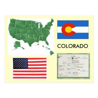 Colorado, USA Postkarte