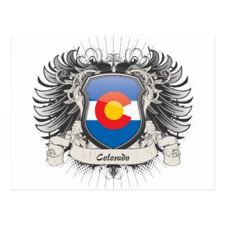 Colorado-Wappen Postkarte