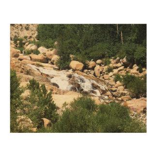 Colorado-Wasser Holzdruck