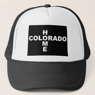 Colorado-Zuhause weg von Staats-Ball-Kappen-Hut Truckerkappe