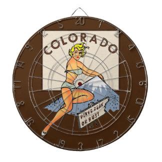 ColoradoPinup Dartscheibe